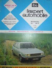 Revue technique RENAULT 20 30 R20 R30 TURBO DIESEL RTA EXPERT 197 1983