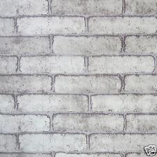 1M Brick Effect Tile Stickers Home Decor Kitchen Bathroom Wall DIY Decal Sticker