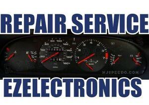 PORSCHE 928, 944 ODOMETER REPAIR SERVICE, INSTRUMENT CLUSTER REPAIR SERVICE