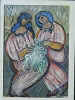 "Historic Taos Artist ""BILL RANE"" oil painting EUROPEAN SHIPPING Available"