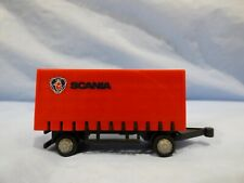 Vintage Teama Toys Scania Curtainside Trailer For Lorry Truck Collectable Toy