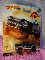 '17 FORD F-150 RAPTOR ☆black truck; 17;Real Riders☆2019 Hot Wheels Desert Rally