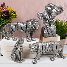 Natural World Ornament Animal Figurine Statue Carved Stone Style Scupltures Gift