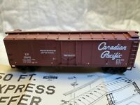 HO Scale Walthers  CP Canadian Pacific 40' Plug Door Box Car #35645.