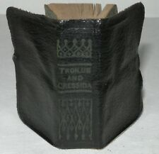 Troilus And Cressida, William Shakepeare, Miniature Edition, c1930. Allied