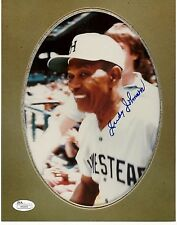 Judy Johnson Hof 8X10 autograph Jsa Negro League Free Shipping