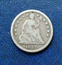 1857 USA HALF DIME