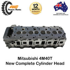 Mitsubishi Triton Pajero 4M40T New Complete Cylinder Head Assembled 4 Cyl 8v