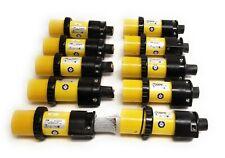 Lot Of 10 Tampb Russellstoll 9p54u2t1100 3 4 Wire Male Locking Plugs 50a 250vac