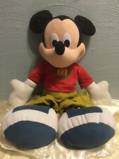 "JUMBO MICKEY MOUSE  Disney 26"" Fisher-Price 2000 Mattel Vintage Stuffed Doll"