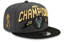 Milwaukee Bucks New Era 2021 Nba Champions Locker Room Snapback Hat In Stock!