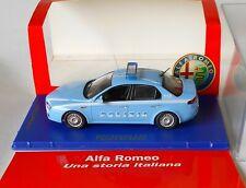 Alfa Romeo 159 Polizia Stradale 2008 M4 Diecast 1/43 Limited 1499 Pieces