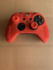 Red Soft Silicone Case Cover Skin Thumb Grips for Xbox One X One S Controller