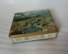 Vintage Edward sharp Tin Ashness Bridge Keswick 17cm x 14cm