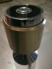 RARA Accendino DA TAVOLO MARUMAN T34 gas CROMATO / JAPAN piezo elettrico