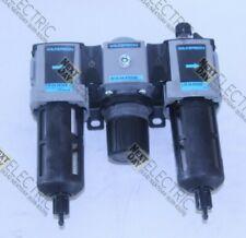 "Wilkerson, F18-04-SK00B, R18-04-F000B, .5"" 1/2"" Air Lubricator Regulator Filter"