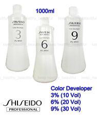 Shiseido Professional Color Developer 3% 6% 9% 12% 1000ml FREE tracking