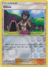 Pokemon OLIVIA 119/147 UNCOMMON REVERSE HOLOFOIL MINT HOT CARD!