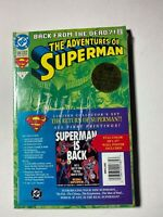 Superman Limited Collectors Set: Superman is Back! DC 1993 Sealed