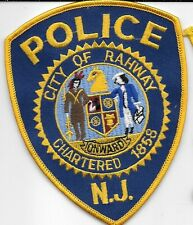 RAHWAY NJ POLICE DEPT RPD INDIAN HORSE HEAD NEW JERSEY LOCAL STATE COUNTY