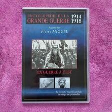 dvd la guerre à l'est la grande guerre 1914 - 1918
