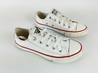 Converse All star Childrens White Leather Trainers Uk 11 Eu 28.5