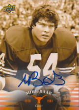 Mike Baab 2011 UD University of Texas autograph auto card 39