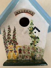 Birdhouse Indoor Decorative Hand Painted