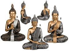 Decorative Gold Silver Bronze Buddha Figure Ornament Sculpture Statue Gift