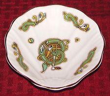 Royal Tara Galway Ireland Book of Kells Bone China E Shell Shaped Oyster Dish EX