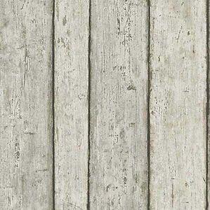 Carta da Parati Legno Naturale Chiaro effetto Shabby   Vinilico TNT alta qualità