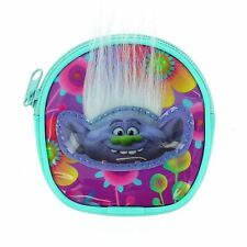Official Trolls Movie Character Purse Zip Up Childrens Wallet