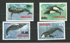 GRENADA GRENADINES 1982 SAVE THE WHALE SG,537-540 U/MM N/H  LOT 1382A