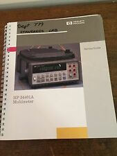 HP 34401A Multimeter service manual