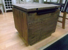Square Side & End Tables with Drawers