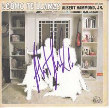 ALBERT HAMMOND JR Como Te Llama? SIGNED/AUTOGRAPHED CD insert + CoA The Strokes