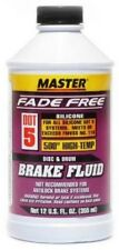 DOT 5 High Temp Silicone Brake Fluid 11 US FL OZ/325 ML