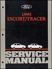 1995 Ford Escort and Mercury Tracer Shop Manual Original OEM Repair Service Book