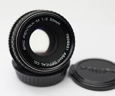 SMC Pentax-M 50mm 1:2 for Pentax PK mount.