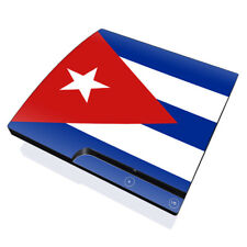 Skin Kit for PS3 SLIM Console ~ CUBAN FLAG ~ Decal Sticker