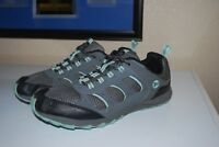 Merrell Trail Cinder Athletic Trail Running Shoes Women's Size 10 Gray / Lt Blue