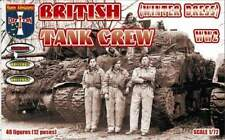 Orion 1/72 Ww2 British Tank Crew (winter Uniforms)