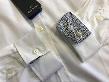 Camicie classiche da uomo in cotone bianco slim