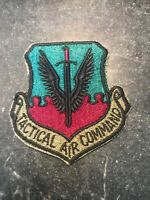 Tactical Air Command Squadron Patch Rare Vtg USAF 80s Subdued 3""