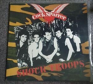 Cock Sparrer-Shock Troops Vinyl (Bitzcore 2003 #bc1722)