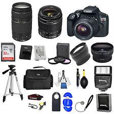 Canon EOS Rebel T6DSLR Camera + 18-55mm+ 75-300MM Lens32GB VALUE BUNDLE *NEW