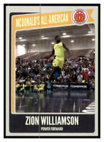 Zion Williamson One Handed Power Slam McDonald's All American Games ACEO