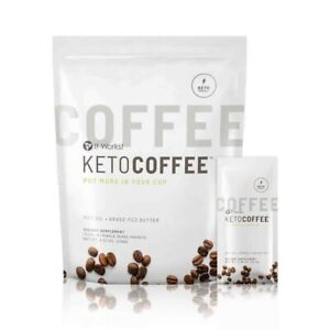 It Works Keto Coffee 15 Packets Sealed Package with MCT Oil New And Improved