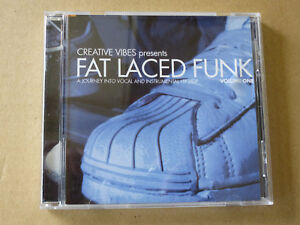 Creative Vibes Fat Faced Funk Music CD New Old Stock