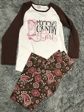 Mommys Country Girl Outfit Size 7/8 NWOT